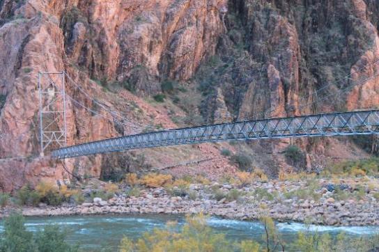 Bright Angel (Silver) Bridge