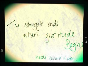 struggle-gratitude